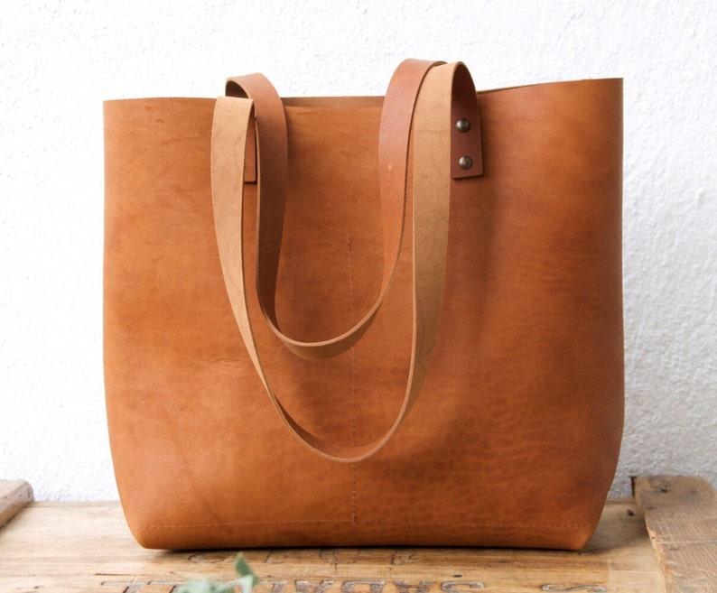 32ec5f70123de Camel Leather tote bag. Cap Sa Sal Bag. Handmade.