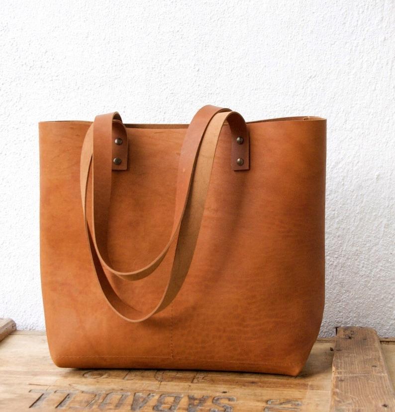 d4fbca38b486 Camel Leather tote bag. Cap Sa Sal Bag. Handmade.