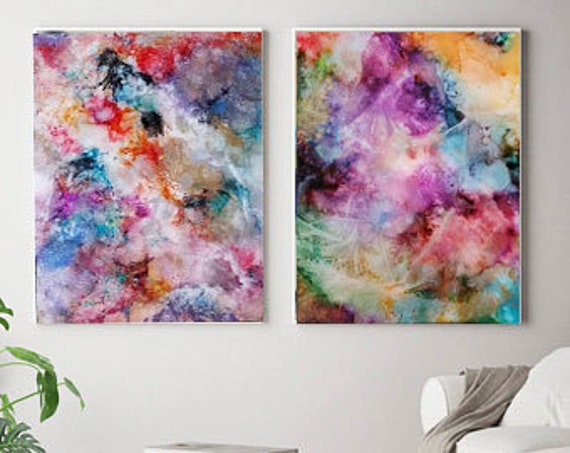 Etsy Art Set Abstract