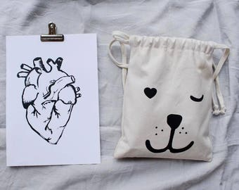 STRONG HEART storage bag - Small