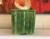 Ceramic Bamboo Planter Pot Vase USA 4055