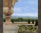 Versailles Garden, France - Framed