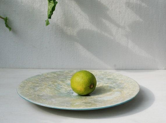 Plaque Décorative Pour Fruits Grès Cristalline Plateau En