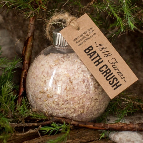 Holiday Bath Crush Buttercream Individual Ornament 1818