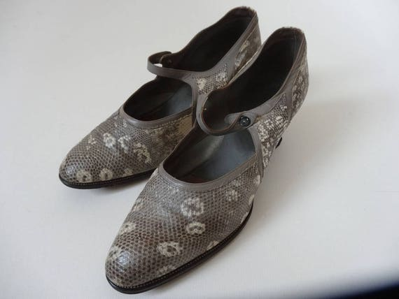 20's Shoes. Exotic.