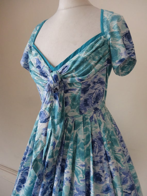 Horrockses Dress. Bluebell Wood.