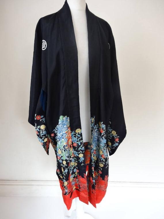 40's Oriental Kimono. Thesbian.