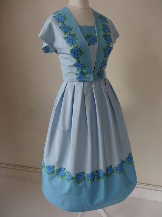 50's Horrockses Dress. Dreaming.