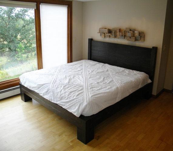 Platform Bed Platform Beds Bed Frame Reclaimed Wood