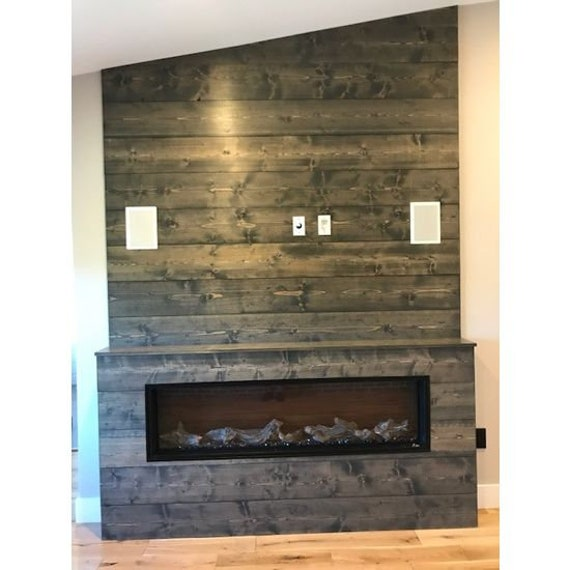Accent Wall Pictures: Shiplap Wall Weathered Gray Feature Wall Accent Wall Wood