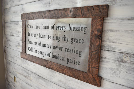 Scripture Art Metal Signs Scripture Wall Art Metal Wall Art Wall Hanging Wood Sign Inspirational Sign Home Decor Rustic Home Quotes