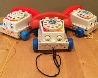 Fisher Price Chatterbox Phone Pull Toy
