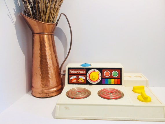 Fisher Price Toy Stove, Fisher Price Toy, Fisher Price Kitchen Toy, Vintage  Fisher Price, Toy Kitchen, Toy Stove, Pretend Play Toy