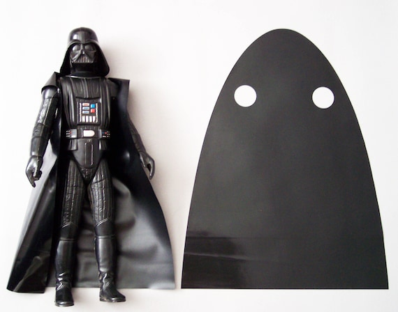Repro Star Wars Replacement Darth Vader Vinyl Cape for Vintage 1977 Figure