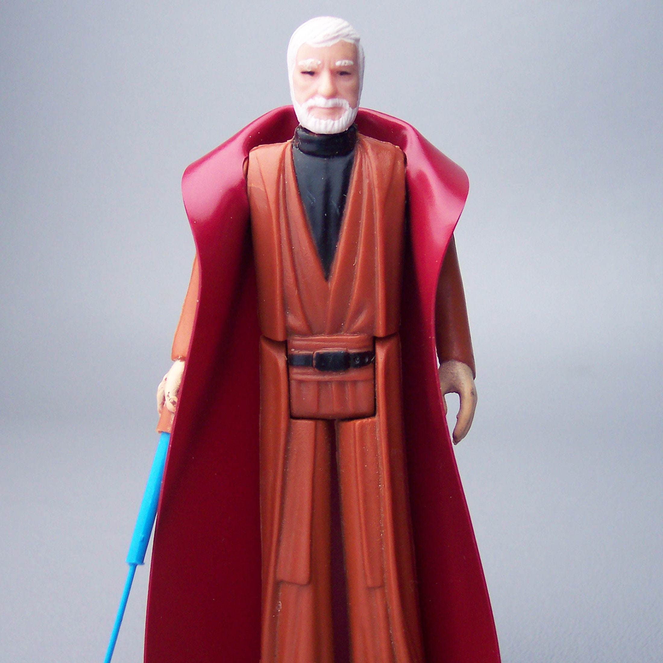 PAINTED Ben Obi Wan Kenobi Lightsaber  Repro Weapon   Star Wars Figures