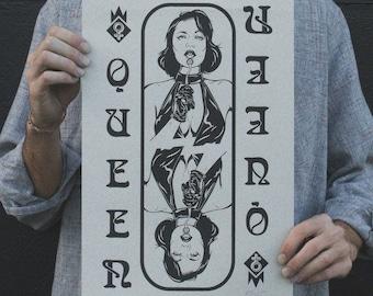 Screenprint poster - ''QUEEN''