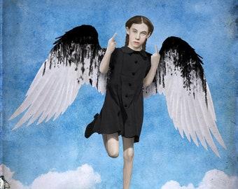 Black Wings Print 8x10