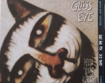 GLASS EYE Hello Young Lovers 1989 CD Bar None Restless Records Austin Art rock