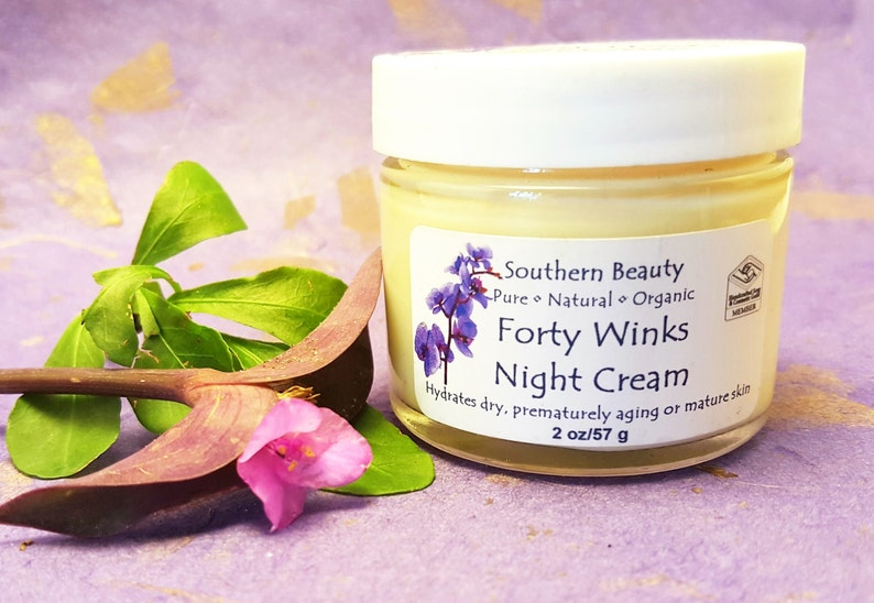 Forty Winks Night Cream Moisturizing Beauty Cream Artisan image 0