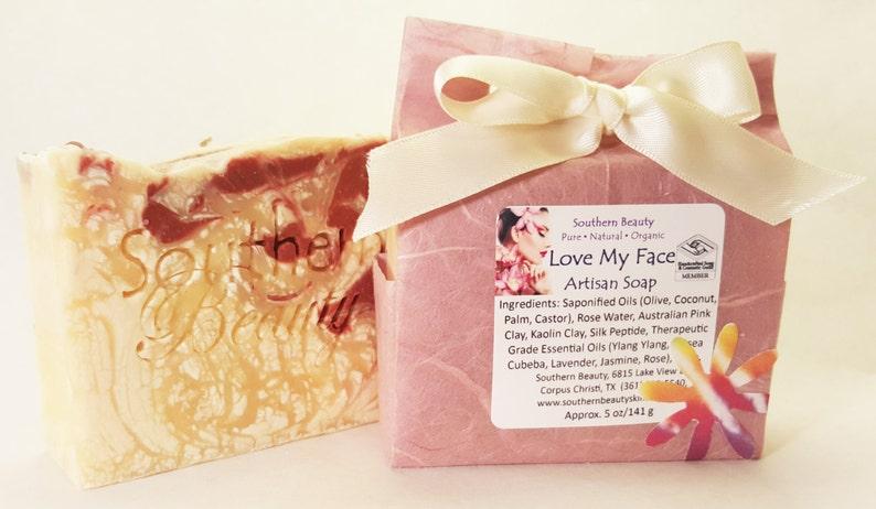 Love My Face Handmade Soap Face Moisturizing Sensitive image 0
