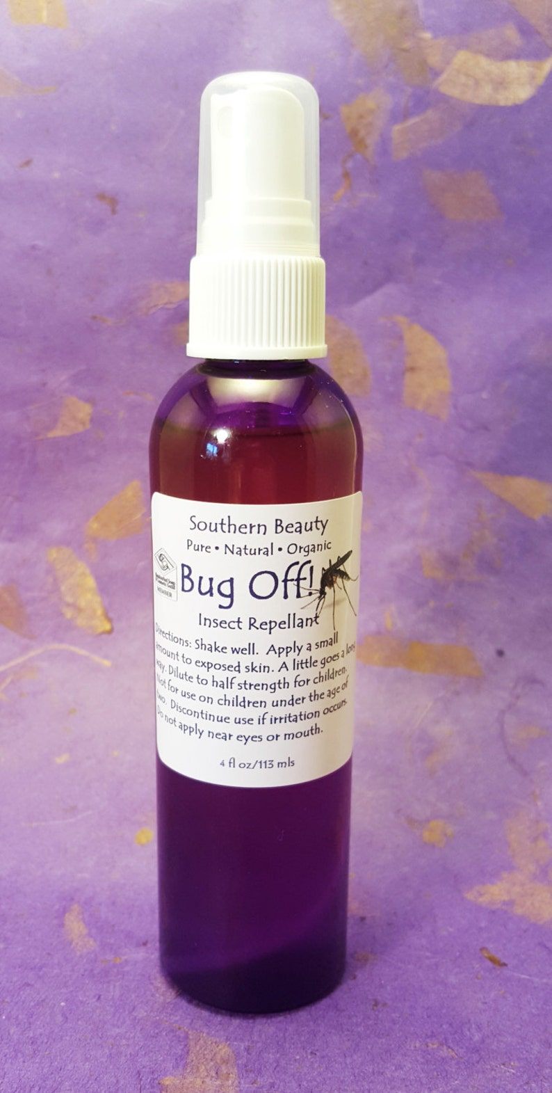 Bug Off Mosquitoes Fleas Camping Outdoors Repellant image 0