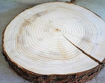 Wood slices - 30 cm