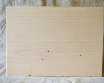 Raw wood block