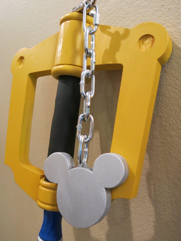 YELLOW Kingdom Key Keyblade Cosplay Prop inspired by Kingdom | Etsy