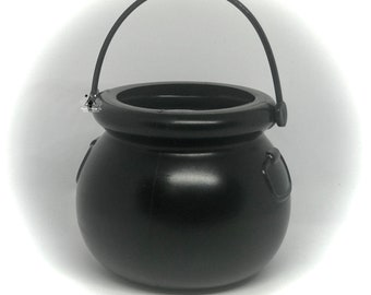 Plastic Cauldrons For Crafting   5 or 10 Mini Cauldrons   Bathbomb   Halloween Party   Jello Shots   Pagan Supplies   Wedding Supply   Witch