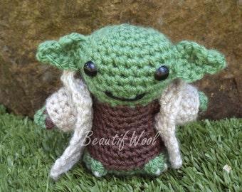 Crochet Little Yoda - Star Wars crochet character