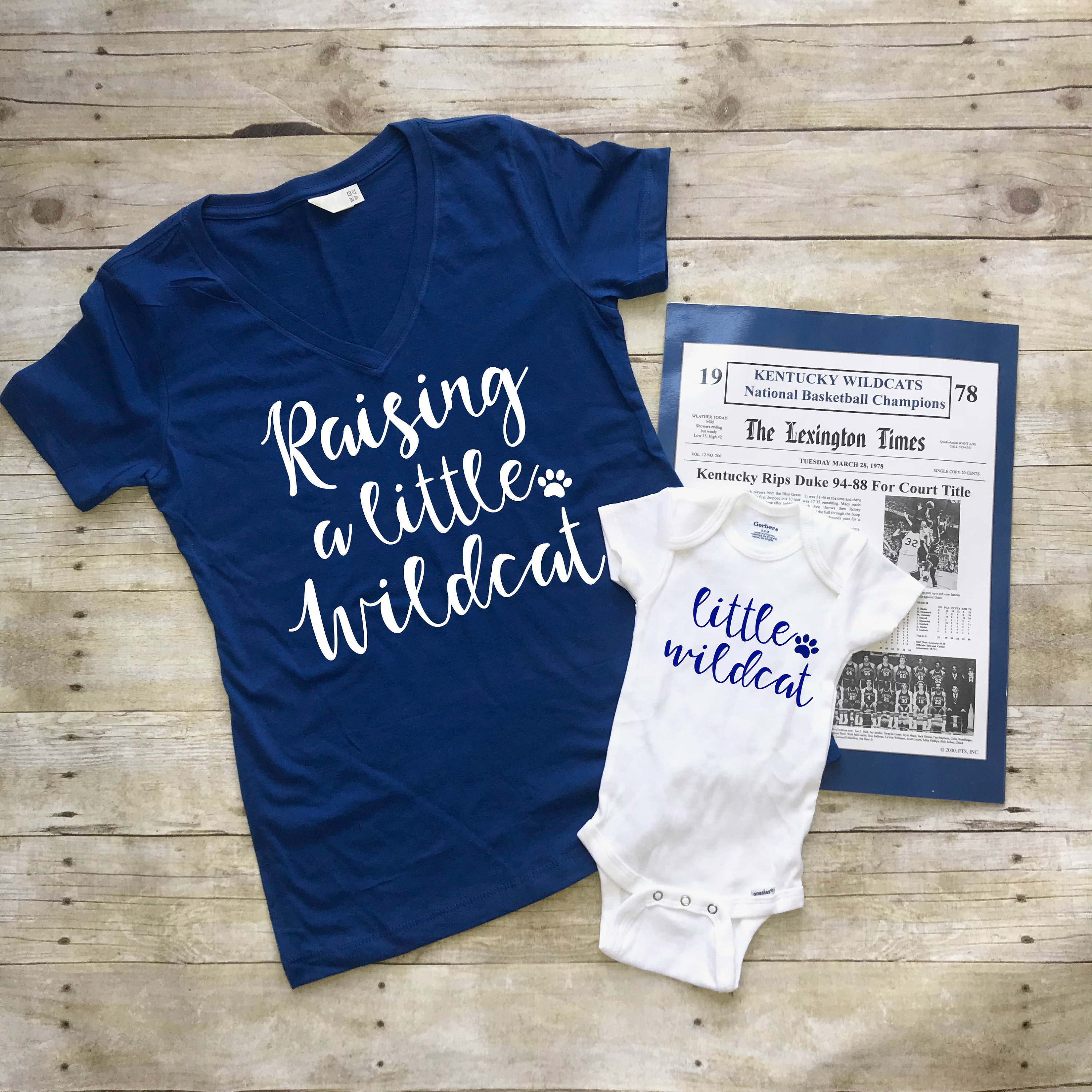 7ba5ab9ccf8a UK Baby Shower Gift Kentucky Wildcats shirt and baby gift