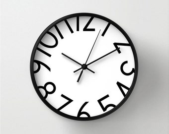More Colors. Wall Clock With Big ...
