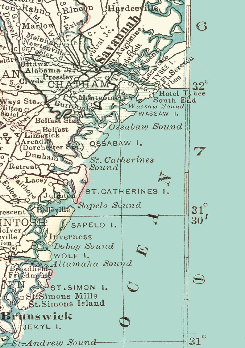 Georgia Coast Map pillow - Georgia Shore, Eastern Seaboard, tybee Island, on jekyll island state park map, arctic map, georgia piedmont map, georgia glacial map, plains georgia map, georgia maritime map, georgia fishing map, georgia beaches map, georgia country map, georgia city map, georgia colonial map, georgia africa map, georgia river map, georgia metro map, southeastern tennessee map, georgia savannah map, georgia water map, georgia europe map, georgia south map, georgia town map,