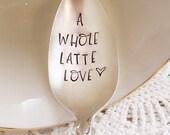 A Whole Latte Love Spoon