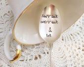 Good Book Cozy Nook Tea Spoon