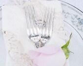Bride Groom Wedding Forks