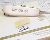 Say Cheese Vintage Cheese Knife