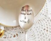 Good Book Cozy Nook Coffee Spoon