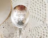 Gimme Some Sugar Vintage Sugar Spoon