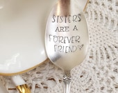 Sisters Are A Forever Friend Spoon