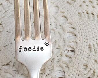 Hand Stamped Fork