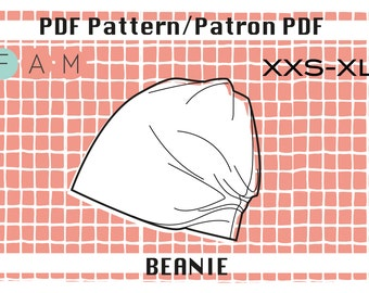 PDF pattern of the beanie