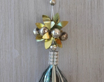 Vintage Gold And Silver Christmas Tree Topper Vintage Christmas Tree Topper