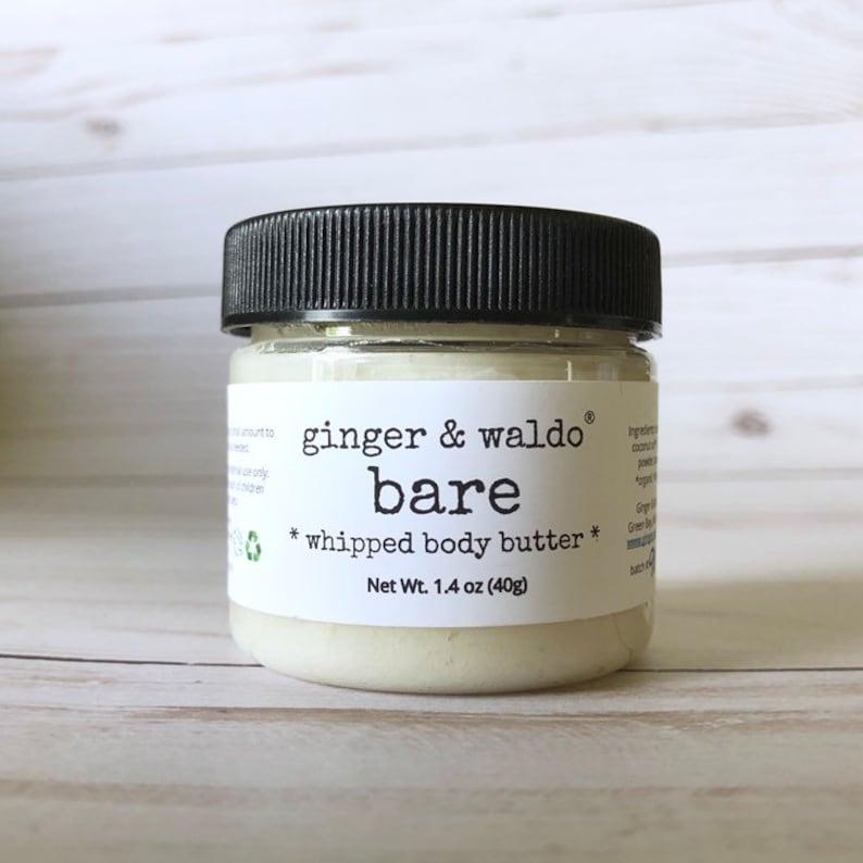 Unscented Mini Body Butter Cruelty Free Vegan Skin Care image 0
