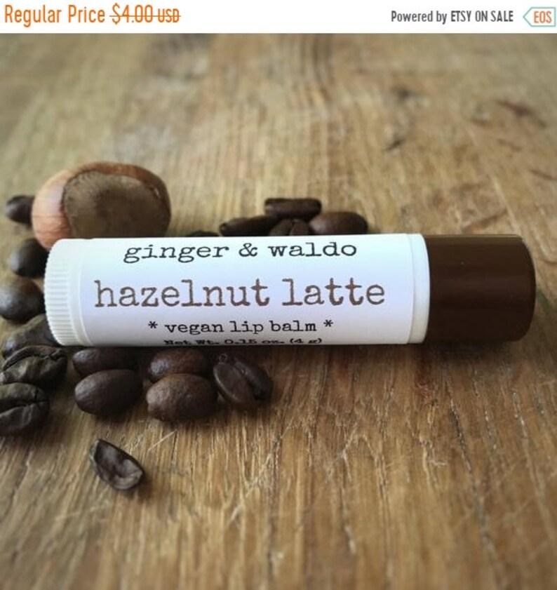 ON SALE Hazelnut Latte Lip Balm Cruelty Free Vegan image 0