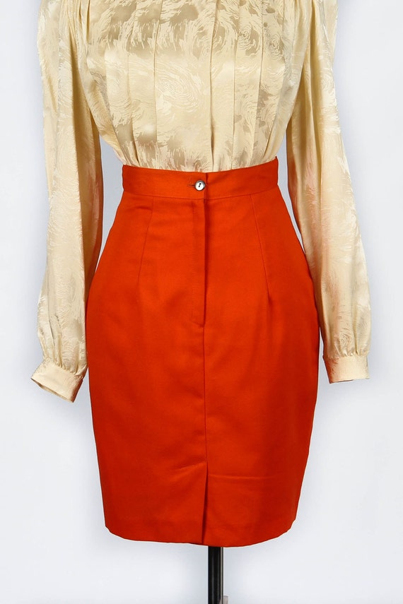 French Vintage Pencil Skirt