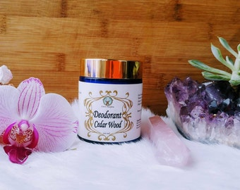 Deodorant: CedarWood