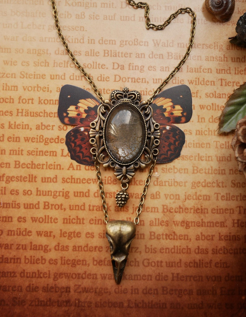 Butterfly Necklace Fairy Queen