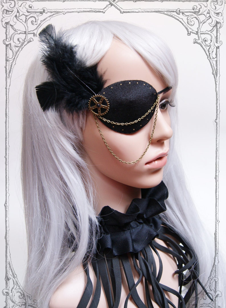Steampunk  Pirate Eyepatch image 0