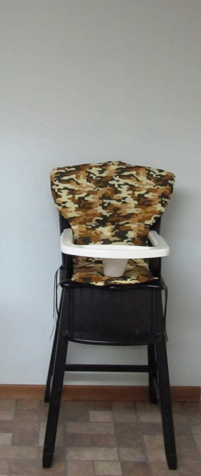 Newport Style Eddie Bauer Or Safety 1st Wood High Chair Cover Cowboy Camo Chair Replacement Pad Seat Cover Kids Feeding Chair Protector